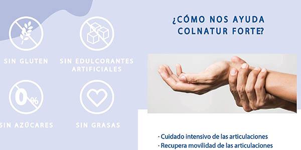 Colnatur Forte cápsulas colágeno natural oferta