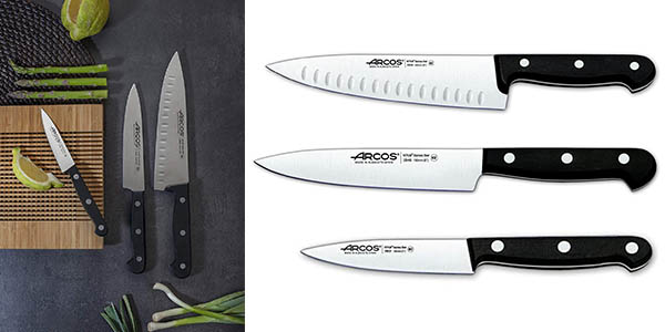conjunto de cuchillos Arcos en oferta