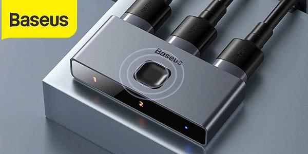 Conmutador HDMI 4K Baseus