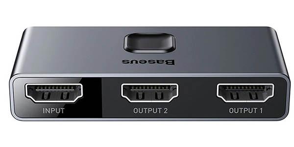Conmutador HDMI 4K Baseus barato