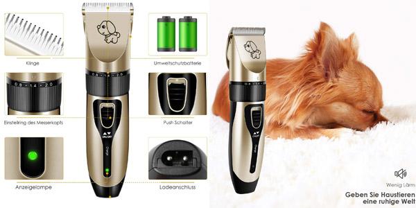 Cortapelos para mascotas Pedy con batería de litio y 3 velocidades chollo en Amazon