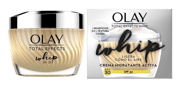 Crema hidratante Olay Total Effects Whip Light as Air con vitamina C y E de 50 ml barata en Amazon