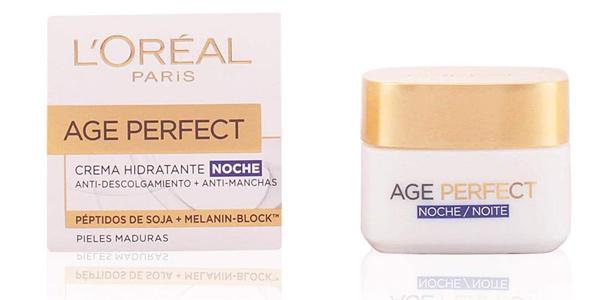Crema Hidratante de noche L'Oreal Paris Age Perfect para pieles maduras de 50 ml barata en Amazon