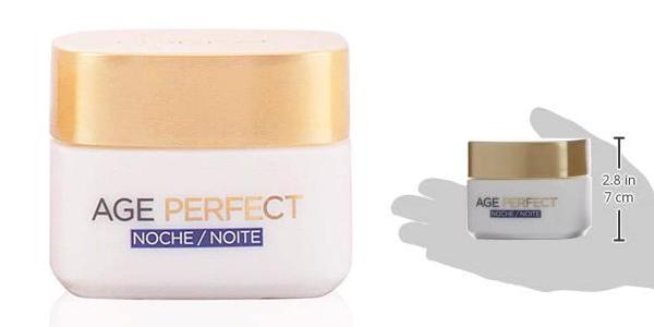 Crema Hidratante de noche L'Oreal Paris Age Perfect para pieles maduras de 50 ml chollo en Amazon