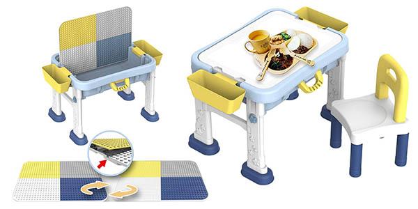 deAO escritorio didáctico infantil para juegos relación calidad-precio alta