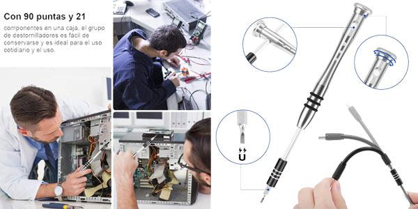 Pack KYG 112 en 1 Destornilladores de Precisión oferta en Amazon
