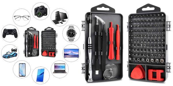 Pack KYG 112 en 1 Destornilladores de Precisión barato en Amazon