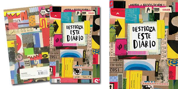 Destroza este diario a todo color libro creativo chollo