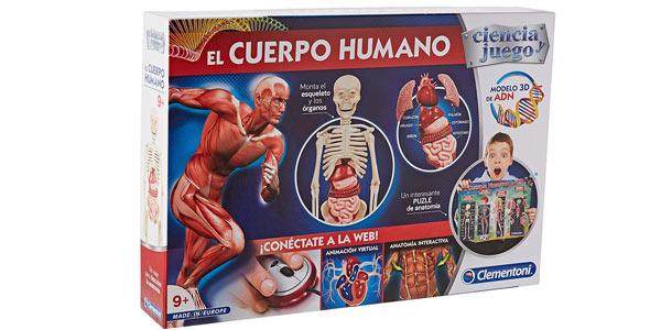 El Cuerpo Humano de Clementoni barato en Amazon