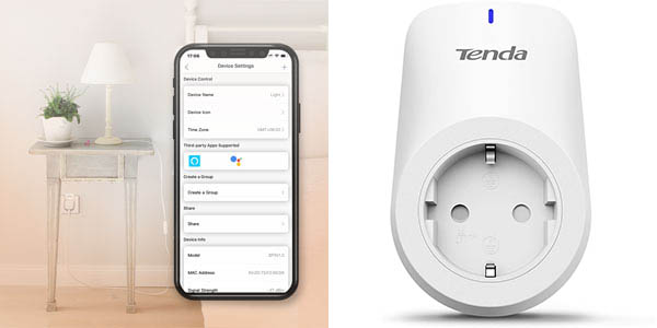 Enchufe WiFi Tenda Beli SP3 en Amazon