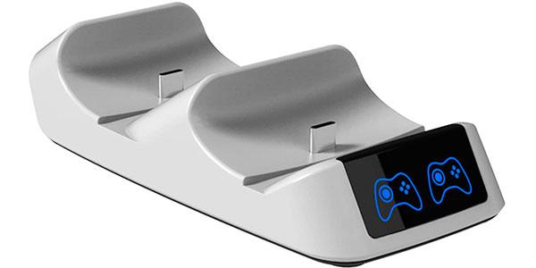 Estación de carga rápida y soporte Gamory para mandos DualSense de PS5 en oferta