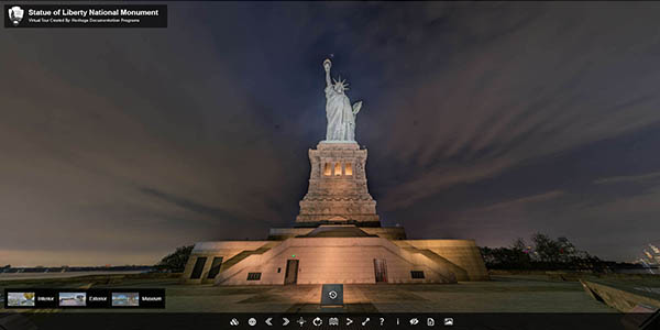 Estatua Libertad Nueva York tour virtual gratuito