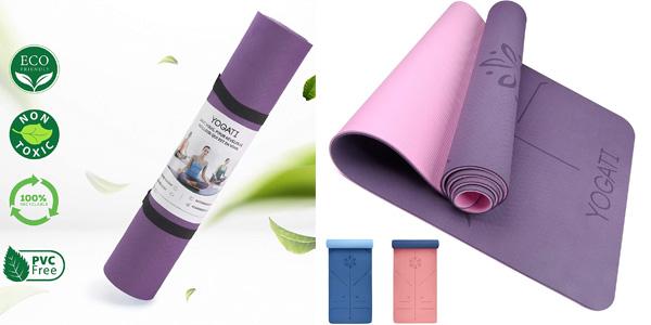 Esterilla Mat de Yoga o Pilates YOGATI barata en Amazon