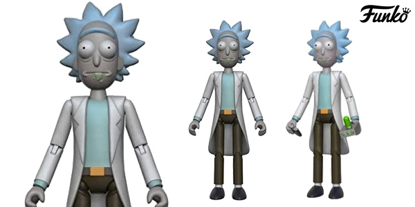 Figura articulada Rick de Rick & Morty (Funko 12924) barata en Amazon