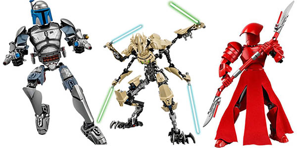 Personajes Star Wars estilo LEGO baratas