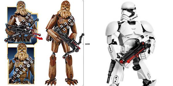 Personajes Star Wars estilo LEGO en AliExpress