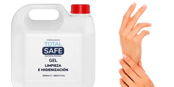 Gel Hidroalcoholico Total Safe de 5 litros chollo en AliExpress Plaza