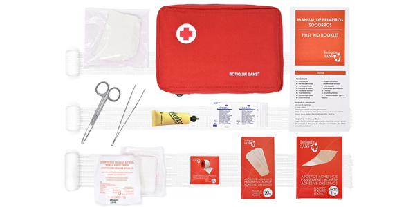 Kit de Primeros Auxilios Botiquín Sans chollazo en Amazon