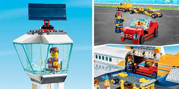LEGO City Airport terminal de pasajeros juego de construcción barato