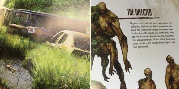 Libro ilustrado The Art Of The Last Of Us en inglés y tapa dura oferta en Amazon