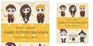 Libro Cómo dibujar Harry Potter Para Niños: Dibujos paso a paso en tapa blanda barato en Amazon