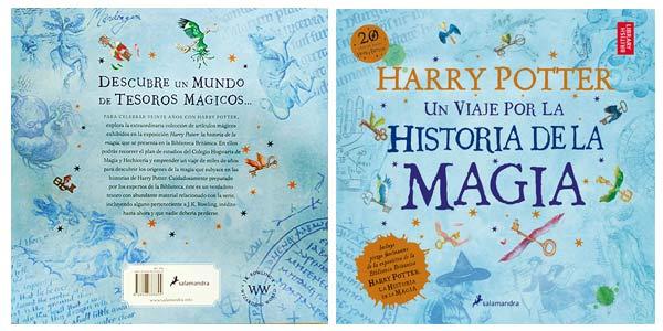 Chollo Libro Ilustrado Harry Potter Un Viaje Por La Historia De La Magia En Tapa Blanda Por Sólo 14 25