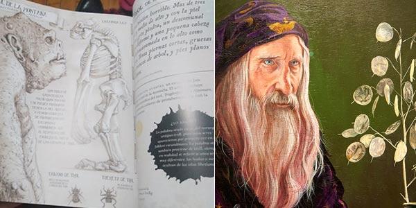 Libro ilustrado Harry Potter: un viaje por la historia de la magia en tapa blanda chollo en Amazon