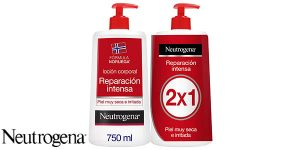 2x Loción Corporal Reparación Intensa Neutrogena de 750ml
