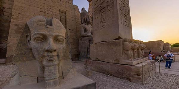 Luxor Egipto visita virtual al templo