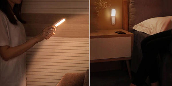 Lámpara LED Baseus con detector de movimiento chollo en AliExpress