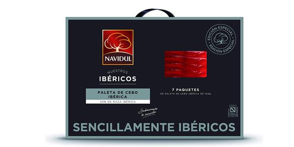 Maletín Navidul de Paleta de Cebo Ibérica de 728 gramos barata en Amazon