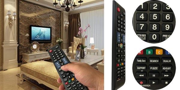 Mando a distancia iLovely de reemplazo para Smart TV Samsung oferta en Amazon