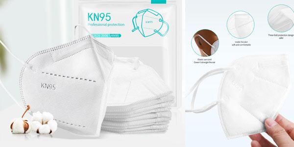 Mascarillas KN95 baratas en Aliexpress