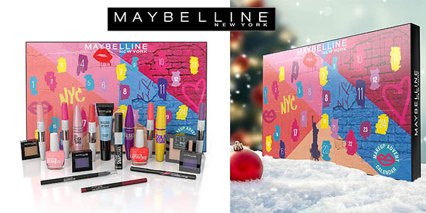 Maybelline New York calendario de adviento barato