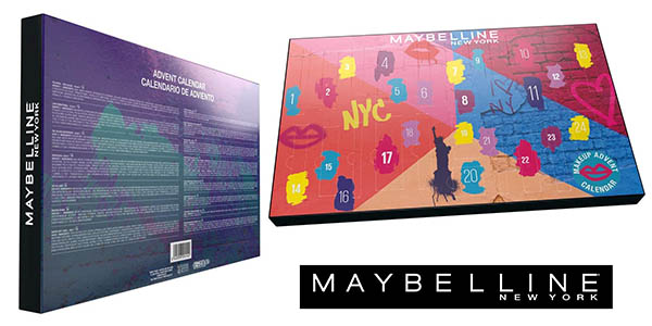 Maybelline New York calendario de adviento maquillaje oferta