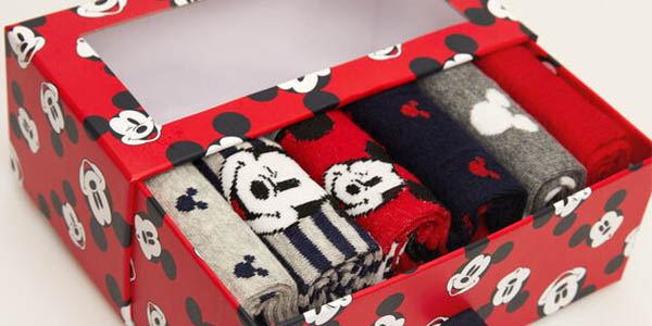 Mickey Mouse calcetines largos chollo