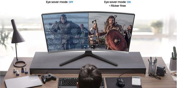 "Monitor curvo Samsung LC32R500FHUXEN de 32"" chollazo en Amazon"