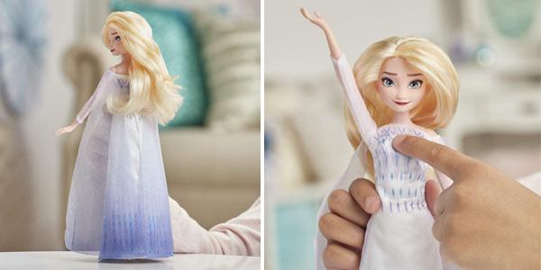 Muñeca Cantarina Elsa Disney Frozen 2 de Hasbro E8880TG0 chollo en Amazon