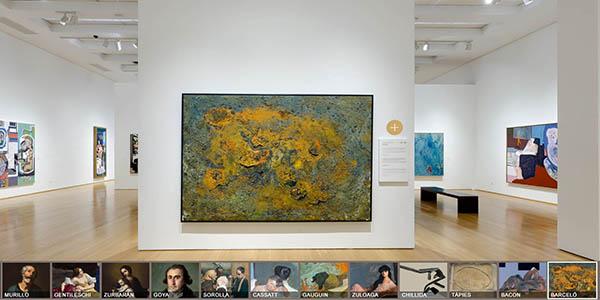 Museo Bellas de Artes de Bilbao visita virtual gratuita
