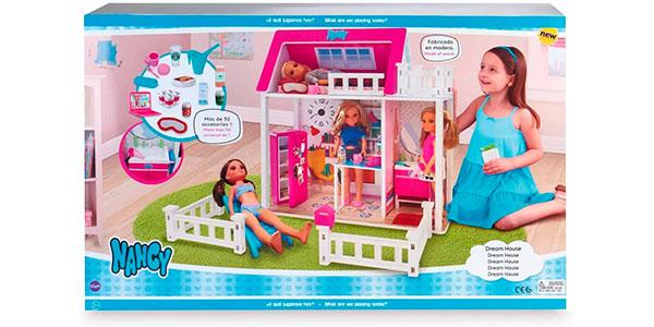 Casa de muñecas Nancy Sweet House de madera barata