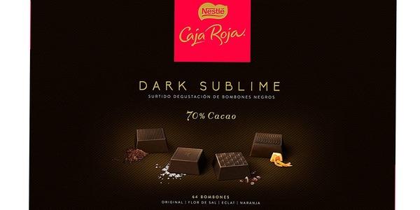 Nestlé Caja Roja Dark Sublime barata