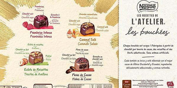 Nestlé Recettes L'Atelier bombones oferta