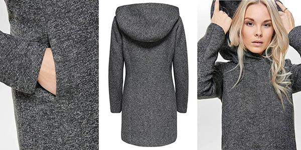Only Onlsedona Light abrigo con capucha para mujer chollo