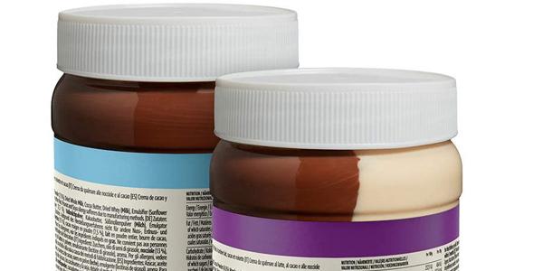 Pack x2 Crema de Cacao y Avellanas o Leche Amazon Happy Belly Select chollo en Amazon
