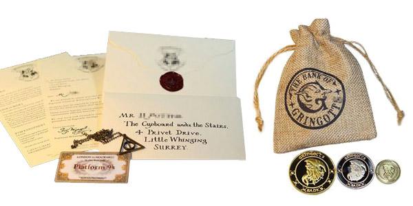 Set de Regalo Harry Potter barato en Aliexpress
