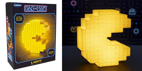 Pacman pixelated Paladone lámpara barata