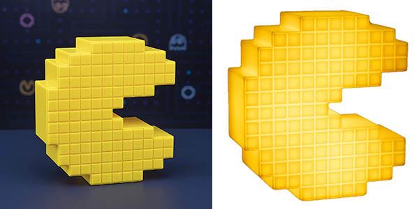 Pacman Pixelated Paladone luminaria económica