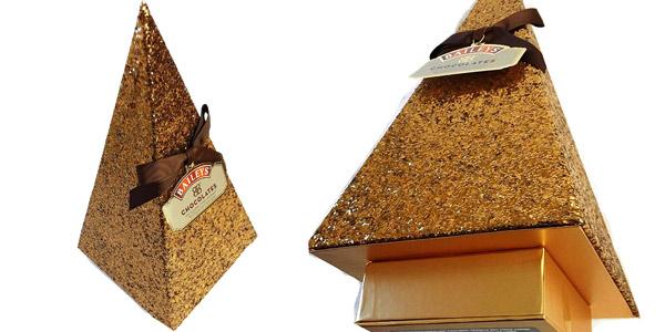 Pirámide de Chocolate Baileys árbol de navidad de 350g chollo en Amazon