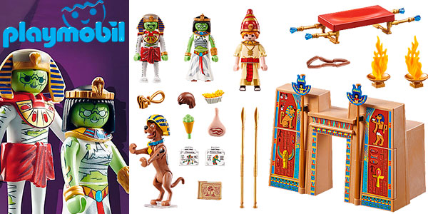Chollo Set Aventura en Egipto de Playmobil Scooby-Doo con 4 figuras
