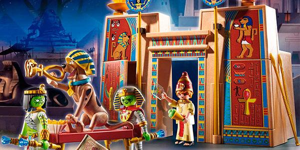 Set Aventura en Egipto de Playmobil Scooby-Doo con 4 figuras barato
